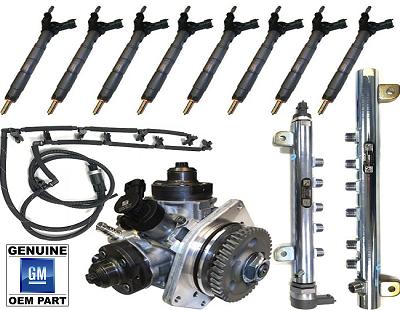 11-16 LML 6 6L GM Duramax OEM Fuel Contamination Kit